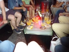 celebrating with my friends :))