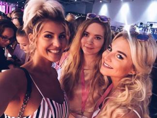 YouTuberin Sarah Nowak, Sandra & ich