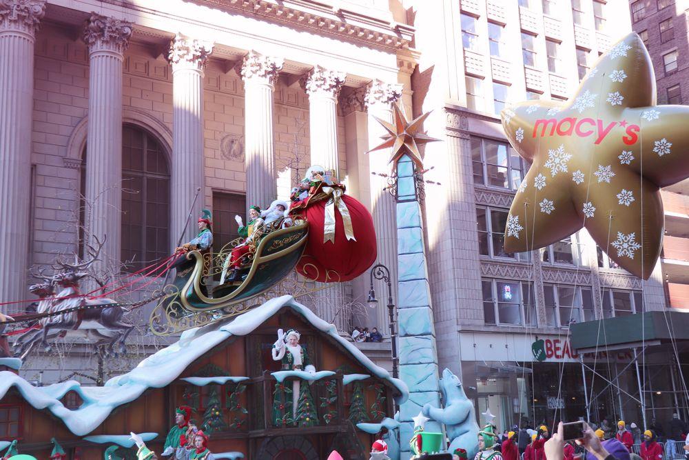 New York City Part 1: Macy\'s Parade & Black Friday | Julia ...